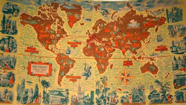 Mapas de Air France