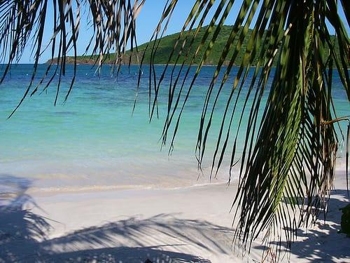 Playa Flamenco, en Culebra
