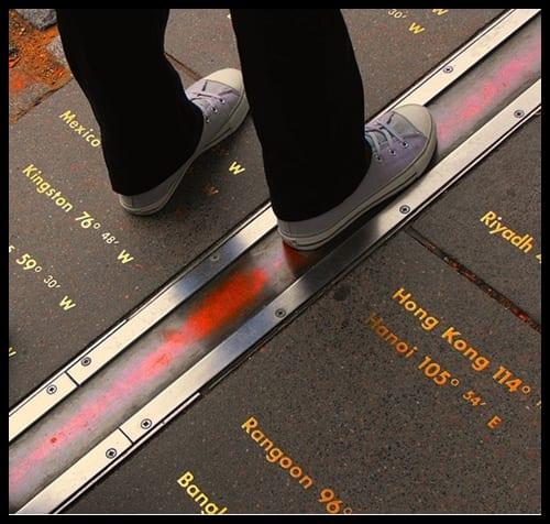 Meridiano de Greenwich, Londres