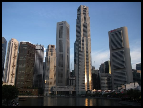 Parte financiera de Singapur