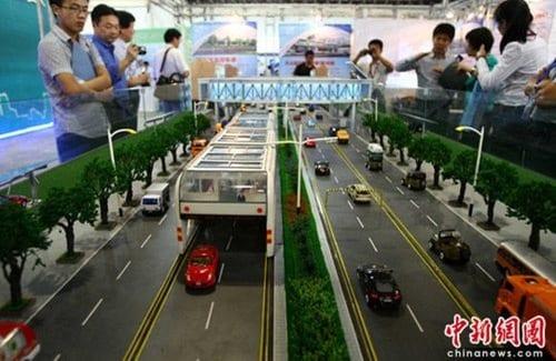 China diseña los autobuses del futuro