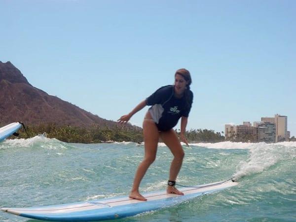 Surf en Hawai