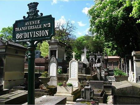 Cementerio Père-Lachaise, París