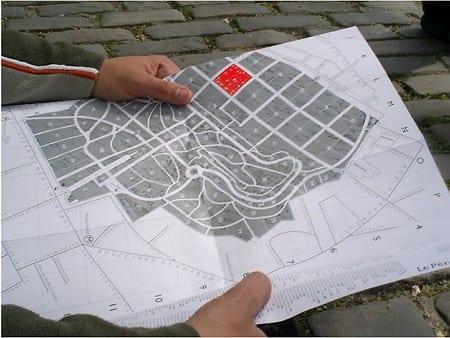 Mapa Père-Lachaise