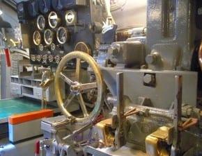 Interior submarino, Pearl Harbor