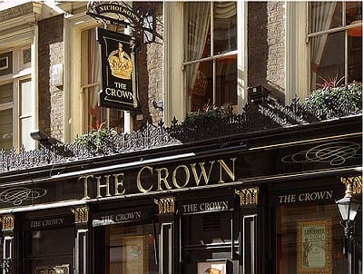 The Crown, Londres