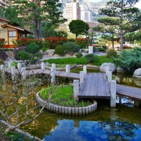 Jardín japonés, Monte Carlo, Mónaco