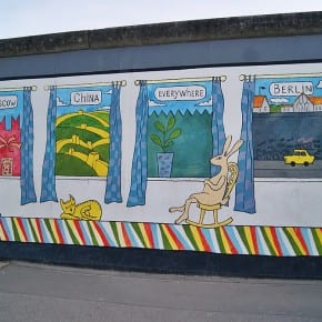 East Side Gallery, Berlín