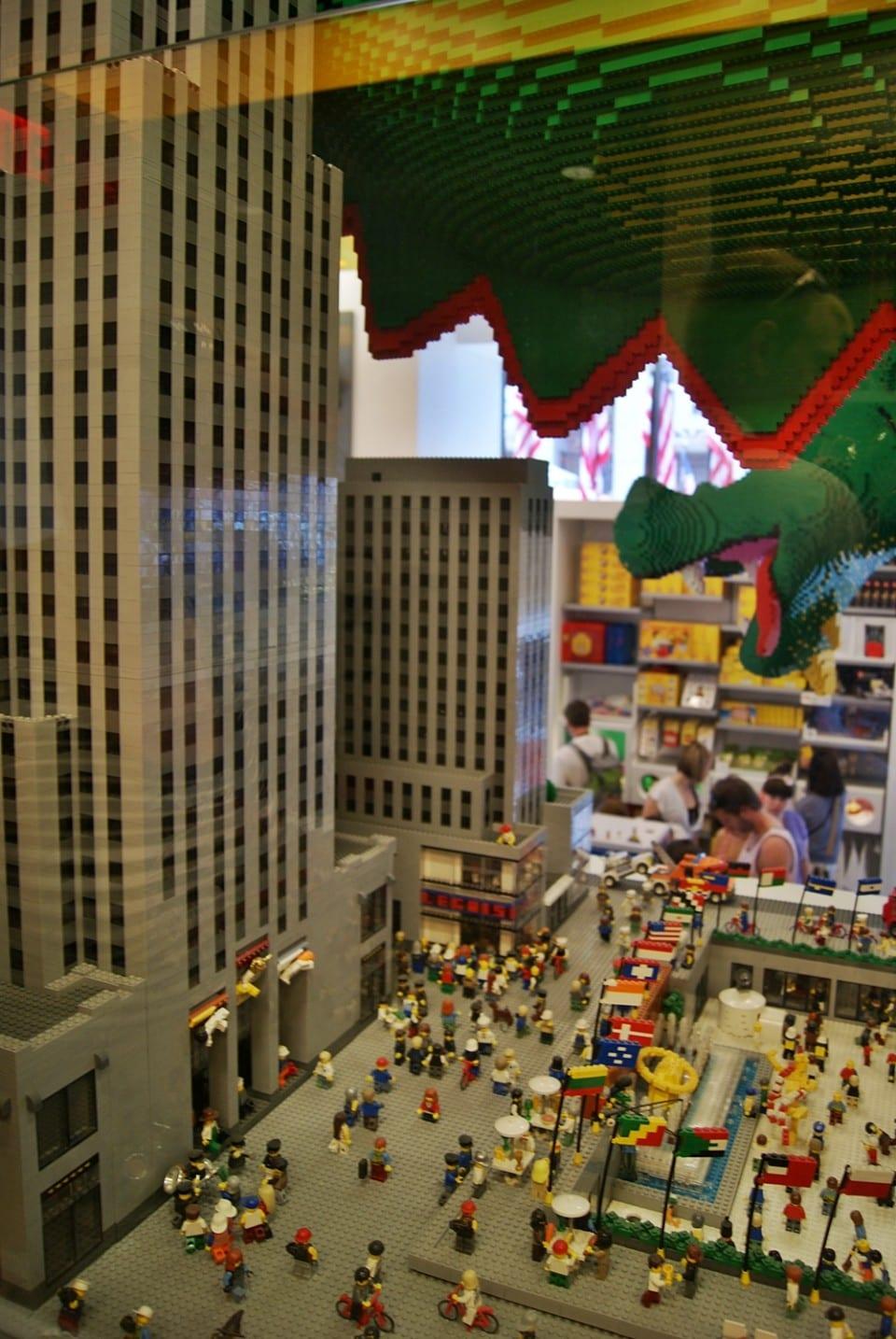 Lego Store, Nueva York
