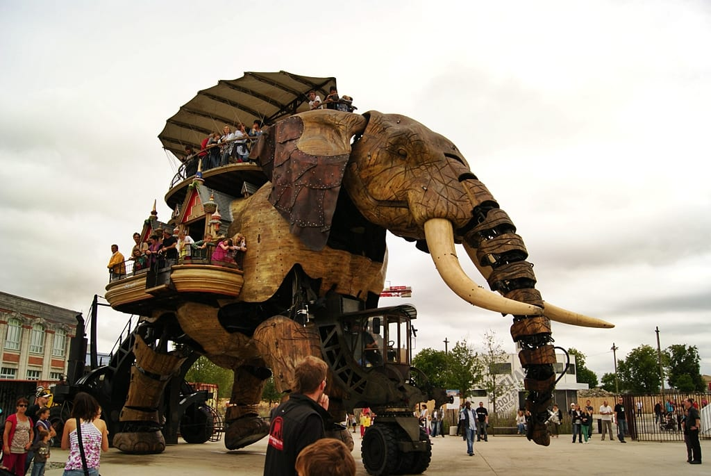 Elephant de La Machine, Nantes