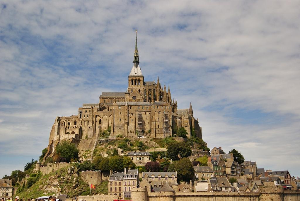 Monte Saint Michel, Francia