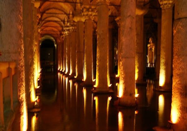 La Cisterna Basílica y la Medusa, Estambul