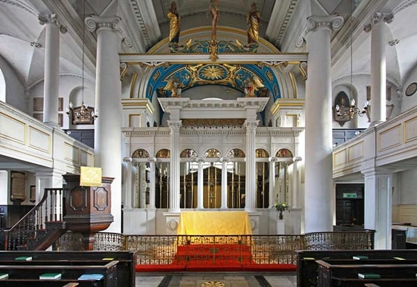 Grosvenor chapel, London