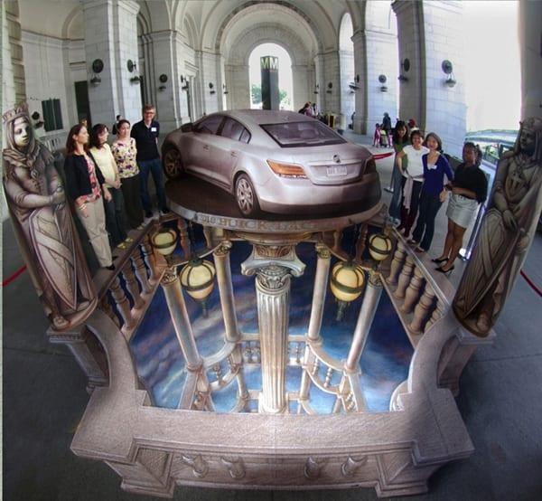 Kurt Wenner, el arte en 3D