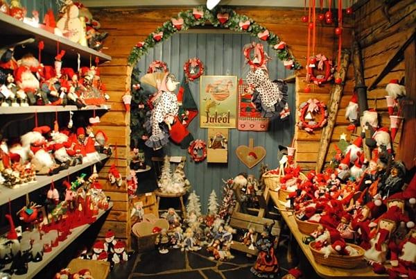 Casa de Santa Claus en Noruega