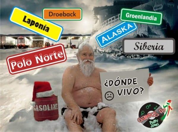 Las casas de Papá Noel
