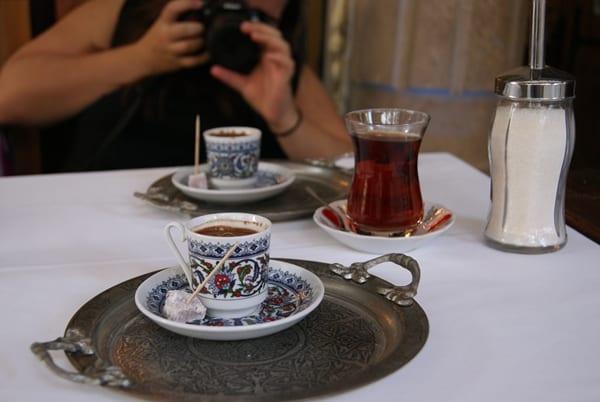 Bebidas típicas de Estambul