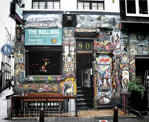 bulldog, coffee shops de Amsterdam