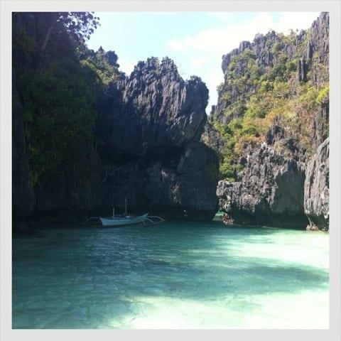 Small lagoon, El Nido, Filipinas