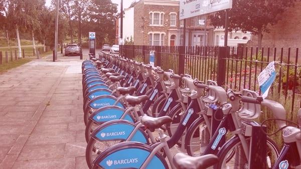bicis Barclays