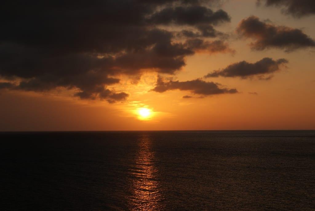 Puesta de sol, Cabo de Gata