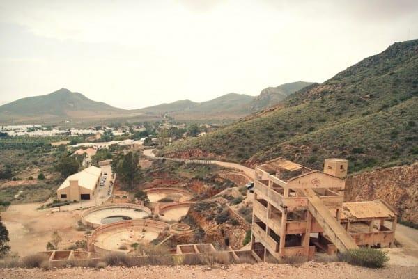 Minas de oro de Rodalquilar, Cabo de Gata