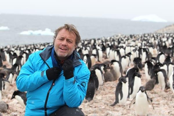 Paco Nadal en la Antártida