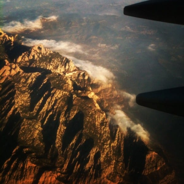 Sobrevolando Barcelona