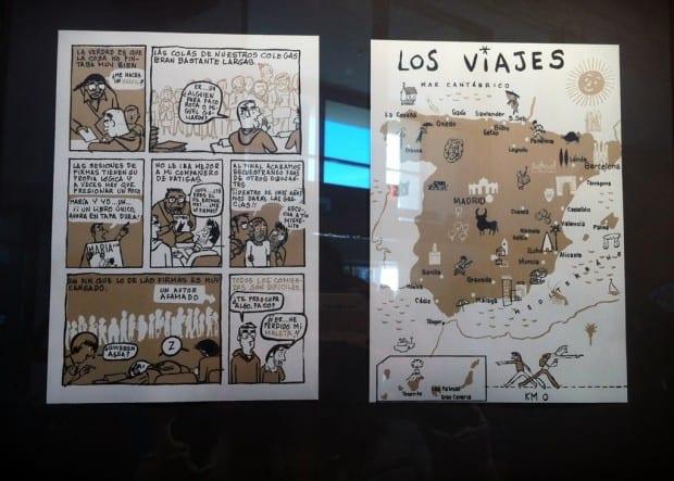 comics de viajes