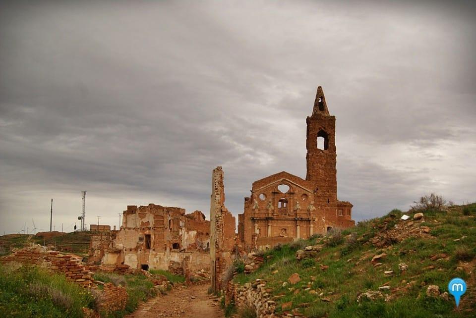 Belchite, el pueblo fantasma de Zaragoza - Meridiano 180