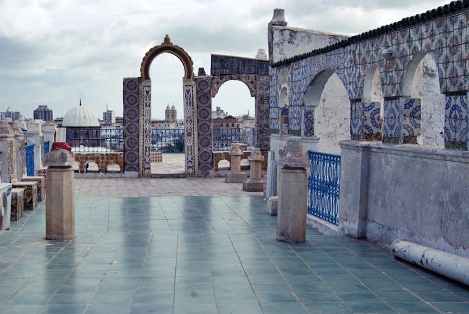 Azotea en Túnez