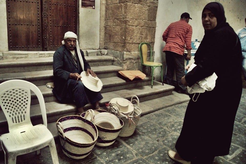 Artesanos en la medina