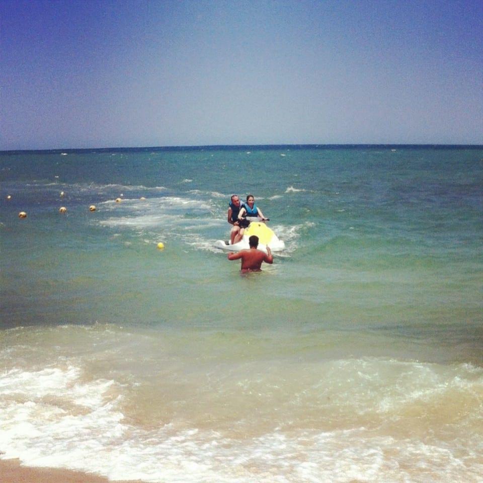 moto acuática en túnez