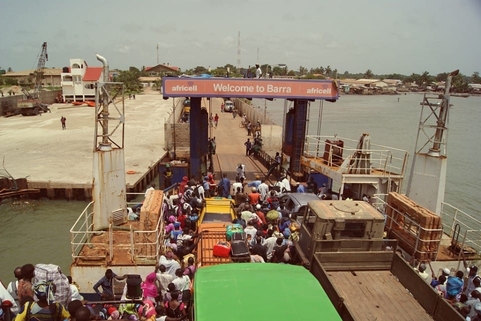 Ferry Banjul Barra