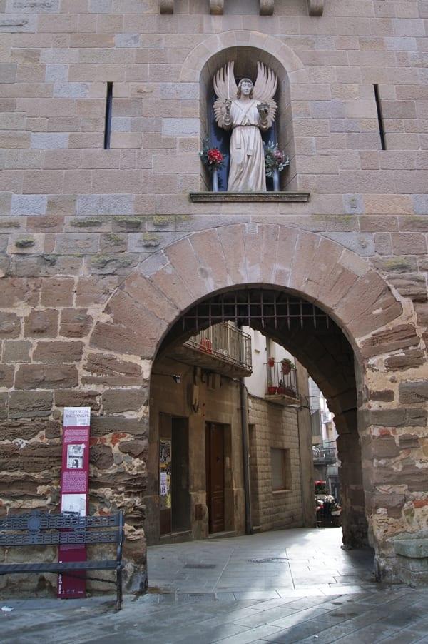Puerta del Ángel, Guissona