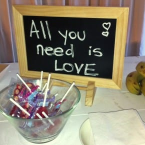 Alll you need is love