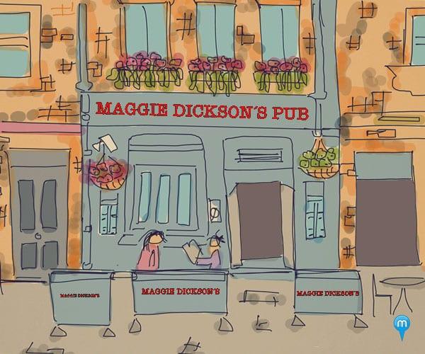Maggie Dickson´s Pub Edimburgo