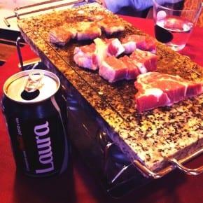 Carne a la piedra, Guissona