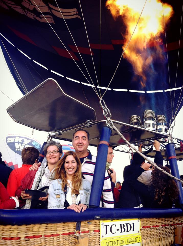 Globo por la capadocia turqu a meridiano 180 - Viaje en globo valencia ...