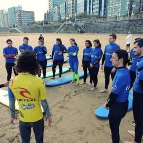 Surf con Tablas, Gijón