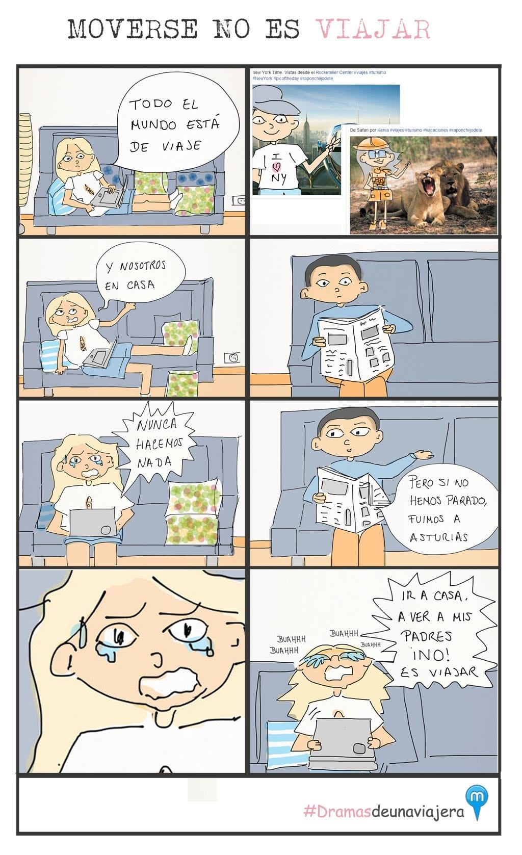 dramas de una viajera
