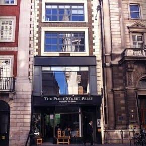 Fleet Street prensa