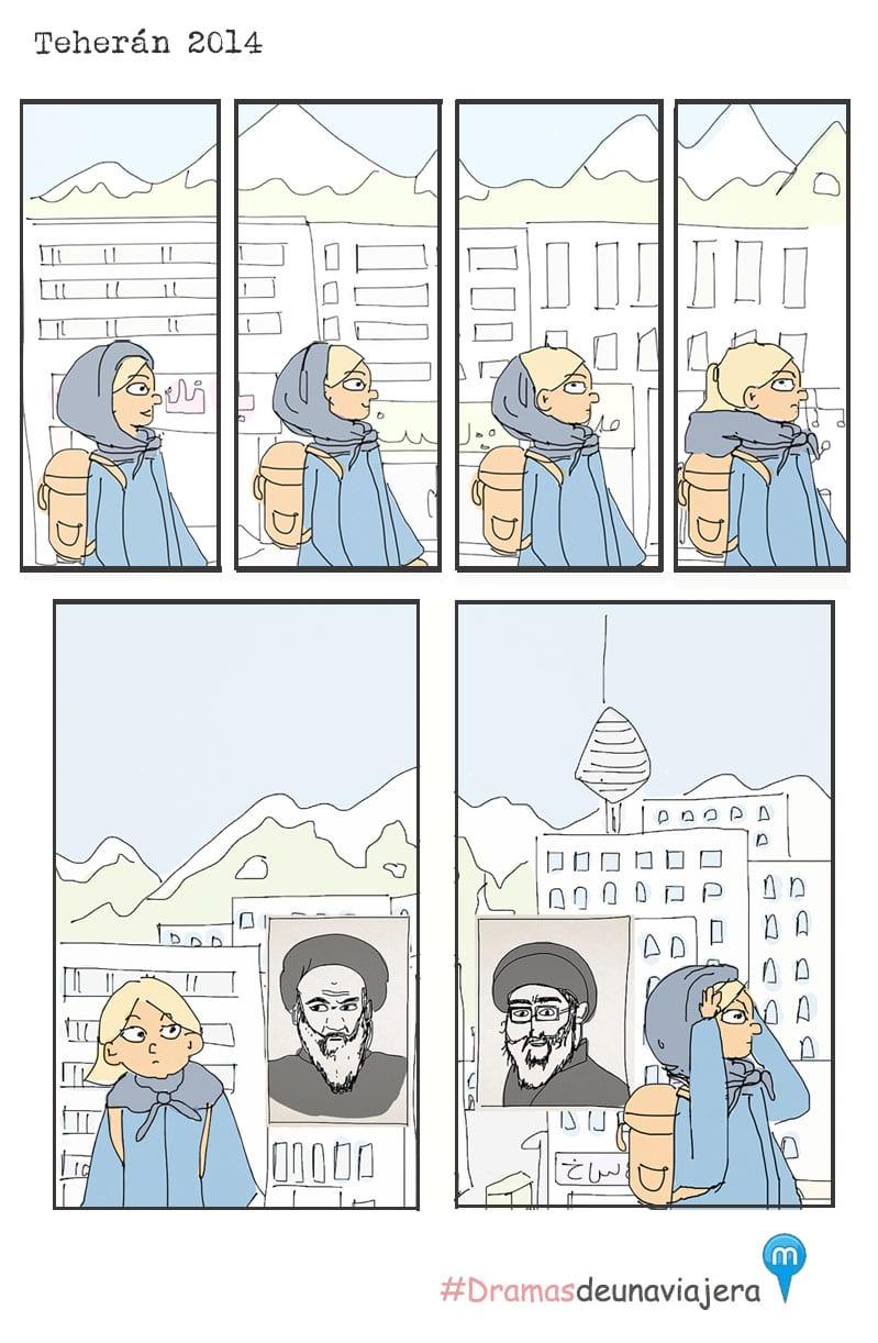 hijab, irán