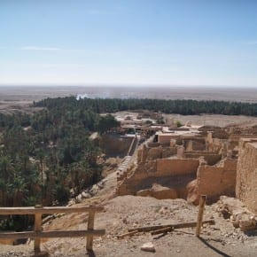 Oasis de Chebika, Túnez