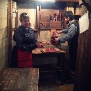 La taverna del Barone, Lazio