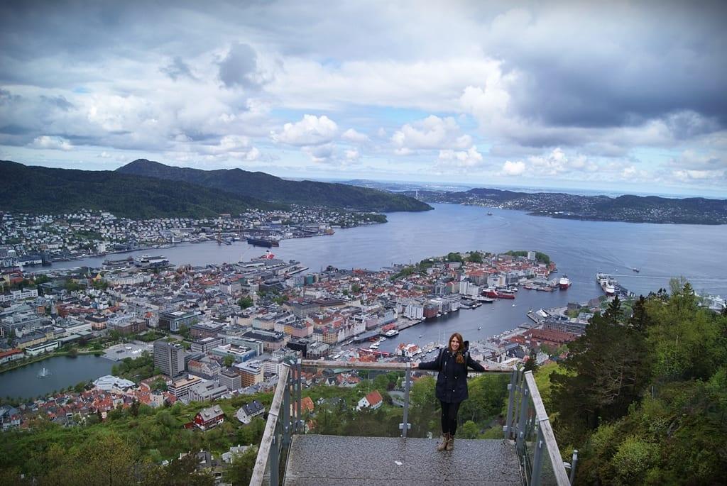 Floyen, Bergen, Fiordos noruegos