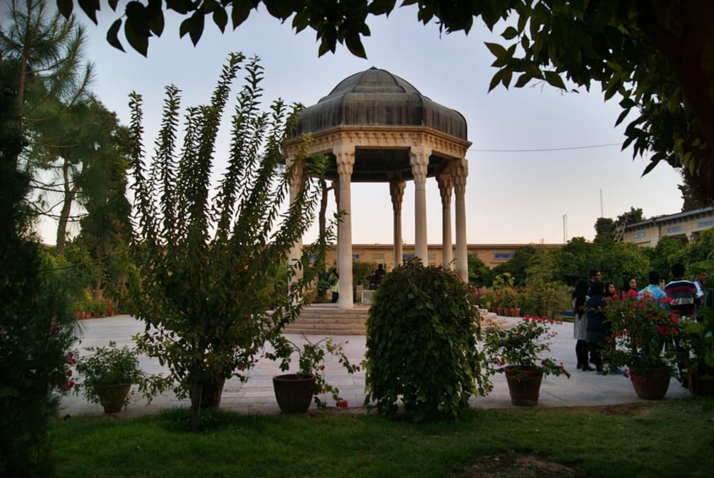 Shiraz, poesía