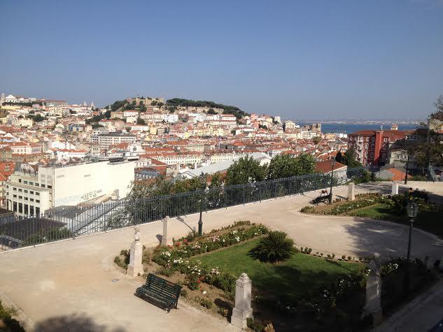 Mirador Sao Pedro de Alcántara, Lisboa