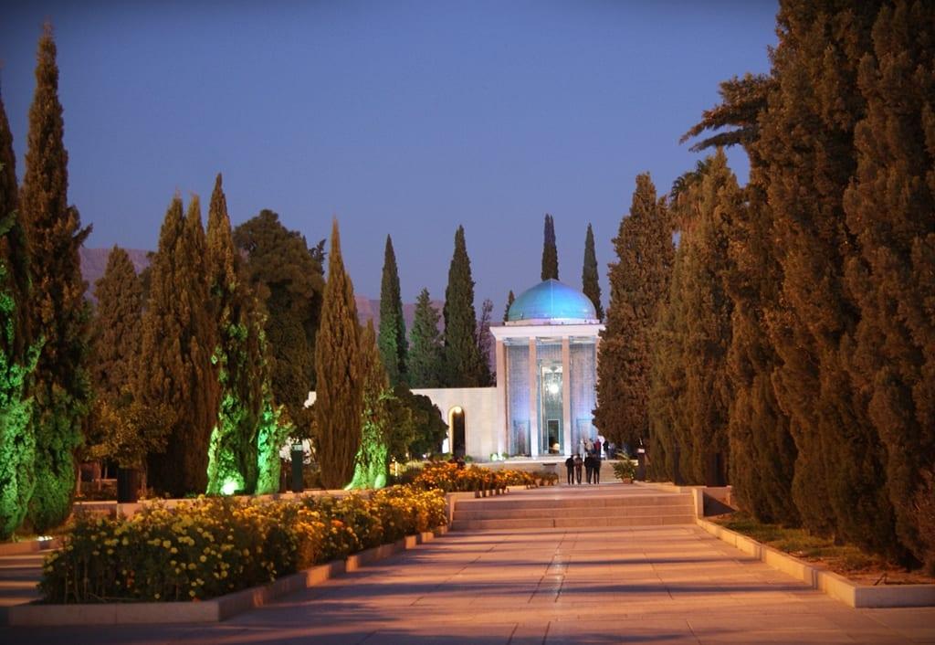 Mausoleo de Saadi, Shiraz
