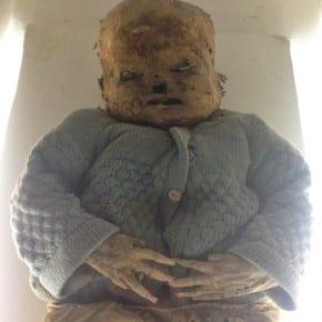 momias de niños, Museo de Guanajuato